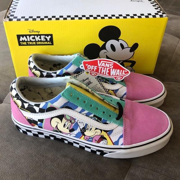 80's Mickey Old Skool Vans NWT